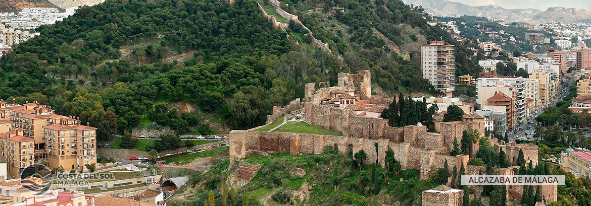 The Alcazaba Fortress of Malaga