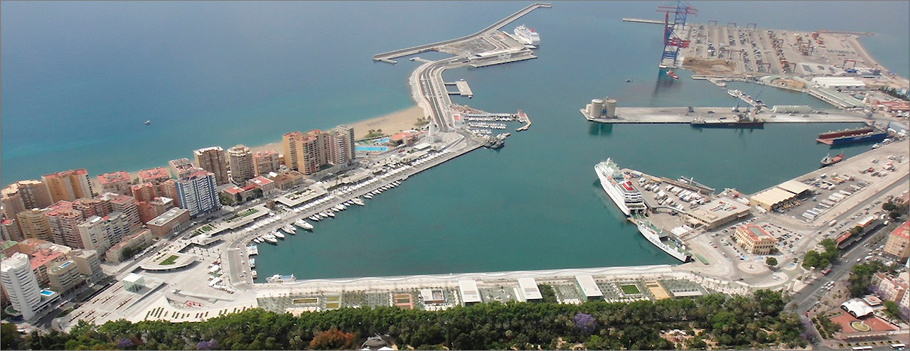 The Port of Málaga